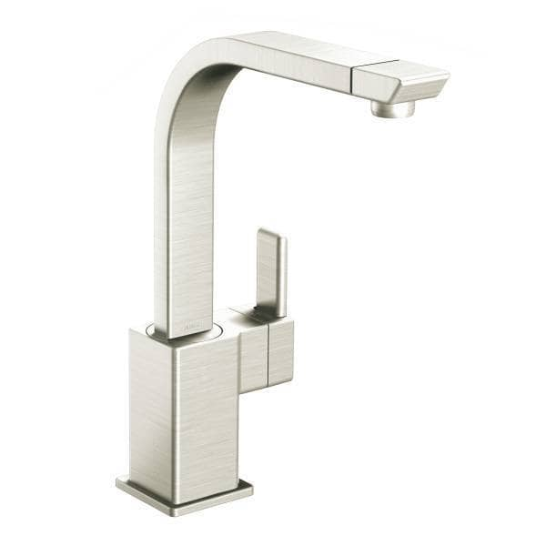 moen 90 degree kitchen faucet moen 90 degree single handle high arc with ceramic disc 25210
