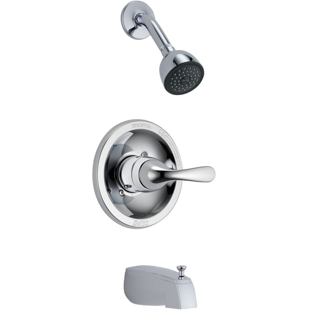 Delta Classic Monitor 13 Series Tub And Shower Trim Only W Deep Escutcheon Tub And Shower
