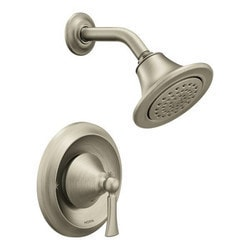 Moen Wynford Posi Temp 2 5 GPM Shower Trim Only Less Rough Valve Model 150856481 Bathroom Faucets