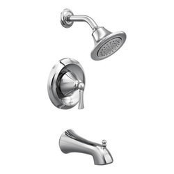 Moen Wynford Single Handle Posi Temp Tub & Shower Trim (Without Valve) Model 150856561 Bathroom Faucets