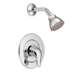 Moen Chateau Single Handle Pressure Balanced Shower Trim w/Shower Head Type 150857251 Bathroom Faucets in Canada