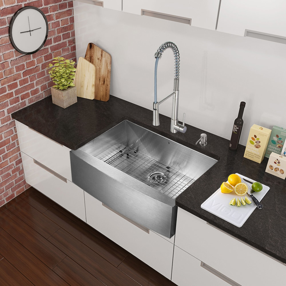 Barn Style Sink : ... Sinks All Products Stainless Steel V / Kitchen Sink / VG3620CK1