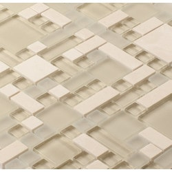 Martini Mosaic Enigma Glass & Stone Blend Model 150955011 Kitchen Wall Tiles