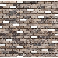 Martini Mosaic Muro Stone & Metal Model 150955231 Kitchen Stone Mosaics