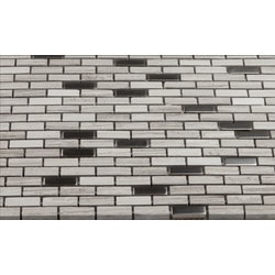 Martini Mosaic Muro Stone & Metal Model 150955241 Kitchen Stone Mosaics