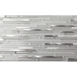 Martini Mosaic Riga Glass Stone & Metal Blend Model 150955081 Kitchen Wall Tiles