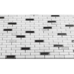 Martini Mosaic Muro Stone & Metal Model 150955251 Kitchen Stone Mosaics