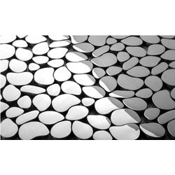 Martini Mosaic Pebbles Metal Model 150955151 Kitchen Metal Mosaics
