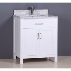Golden Elite Cabinets Bathroom Vanities Carrera White Model 151293561 Bathroom Vanities