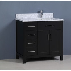 Golden Elite Cabinets Bathroom Vanities Carrera Espresso Model 151293611 Bathroom Vanities