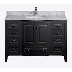 Golden Elite Cabinets Bathroom Vanities Casablanca Espresso Model 151293541 Bathroom Vanities