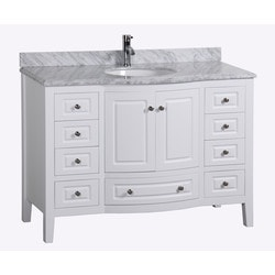 Golden Elite Cabinets Bathroom Vanities Casablanca White Model 151293511 Bathroom Vanities