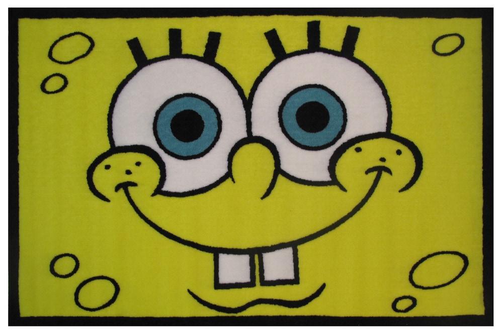 Fun Rugs SpongeBob Head Area Rug SB 16
