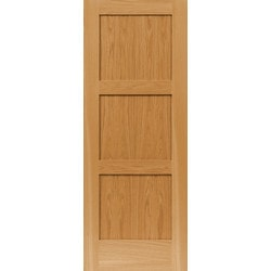 Viewpoint Doors American Red Oak 3 Equal Panel Shaker Model 151477281 Interior Doors