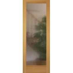 American Red Oak 1 Lite Rain Viewpoint Interior Doors Type 151478001 in Canada