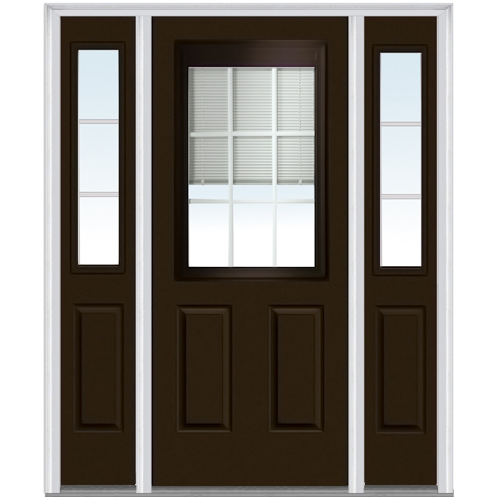 Doorbuild internal mini blinds collection fiberglass for 8 lite exterior door