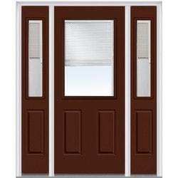 Door Build Exterior Panel Fiberglass Smooth Prehung Entry Door Type 150672921