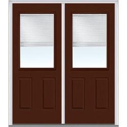 Door Build Internal Mini Blinds Steel Prehung Entry Door Type 150990651 Exterior Doors in Canada