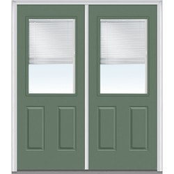 "Internal Mini Blinds Collection Door Build Fiberglass Smooth Entry Door 72"" x 80"" Exterior Doors Type 150992611 in Canada"