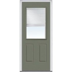 Door Build Internal Mini Blinds Steel Prehung Entry Door Type 150984851 Exterior Doors in Canada