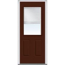 Door Build Internal Mini Blinds Steel Prehung Entry Door Type 150985361 Exterior Doors in Canada