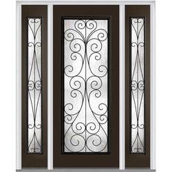 """Camelia Glass Collection Door Build Majestic Steel Prehung Entry Door 64"""" x 80"""" Exterior Doors Type 151629761 in Canada"""