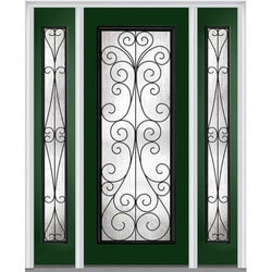 Door Build Camelia Glass Fiberglass Smooth Prehung Entry Door Model 151629541 Exterior Doors