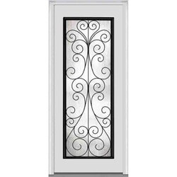 Door Build Camelia Glass Fiberglass Smooth Prehung Entry Door Type 151627721 Exterior Doors in Canada