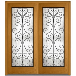 Door Build Camelia Glass Fiberglass Oak Prehung Entry Door Model 151628831 Exterior Doors
