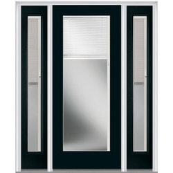 "Internal Mini Blinds Collection Door Build Fiberglass Smooth Entry Door 64-1/2"" x 81-3/4"" Exterior Doors Type 151004461 in Canada"