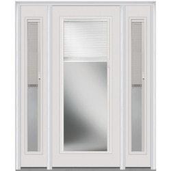 """Internal Mini Blinds Collection Door Build Steel Prehung Entry Door 36"""" x 80"""" Exterior Doors Type 151005921 in Canada"""