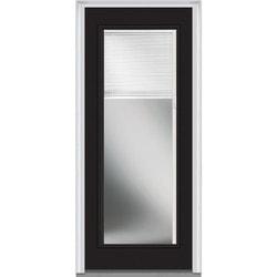 """Internal Mini Blinds Collection Door Build Steel Prehung Entry Door 36"""" x 80"""" Exterior Doors Type 150980501 in Canada"""