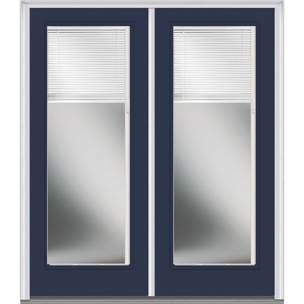 Doorbuild Internal Mini Blinds Collection Fiberglass Smooth Entry Door Naval 60 X80 Full