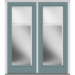 Door Build Internal Mini Blinds Steel Prehung Entry Door Model 150992361 Exterior Doors