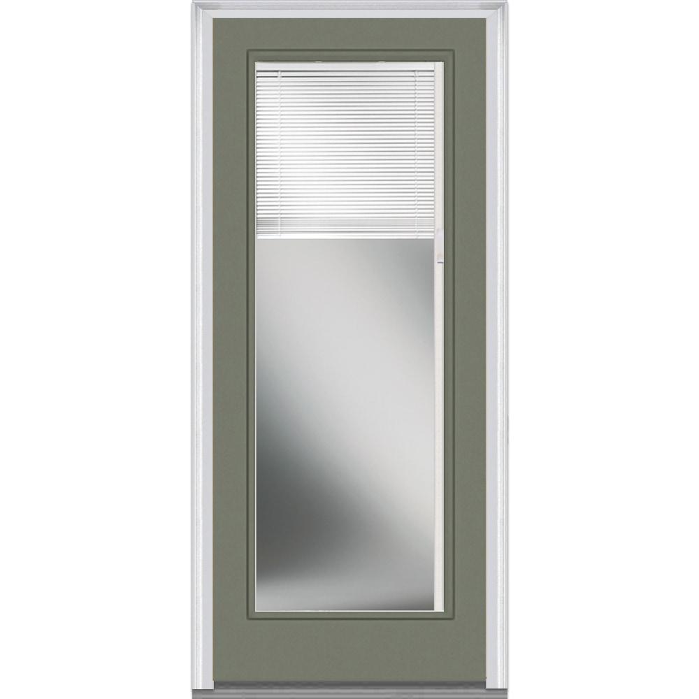 Doorbuild Internal Mini Blinds Collection Steel Prehung Entry Door Dovetail 30 X80 Full