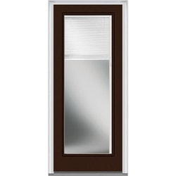 "Internal Mini Blinds Collection Door Build Fiberglass Smooth Entry Door 32"" x 80"" Exterior Doors Type 150995701 in Canada"