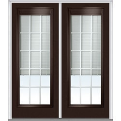 Door Build Internal Mini Blinds Steel Prehung Entry Door Model 150984311 Exterior Doors