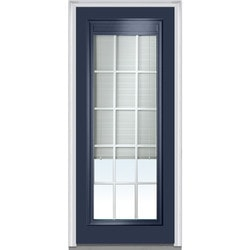 Door Build Internal Mini Blinds Steel Prehung Entry Door Type 150983691 Exterior Doors in Canada