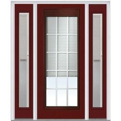 """Internal Mini Blinds Collection Door Build Steel Prehung Entry Door 36"""" x 80"""" Exterior Doors Type 150998941 in Canada"""