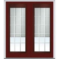 """Internal Mini Blinds Collection Door Build Steel Prehung Entry Door 72"""" x 80"""" Exterior Doors Type 150975811 in Canada"""