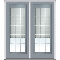 Door Build Internal Mini Blinds Fiberglass Smooth Entry Door Type 150981471 Exterior Doors in Canada