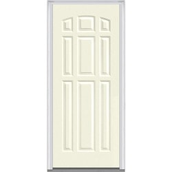 Door Build Exterior Panel Steel Prehung Entry Door Type 150681431 Exterior Doors in Canada
