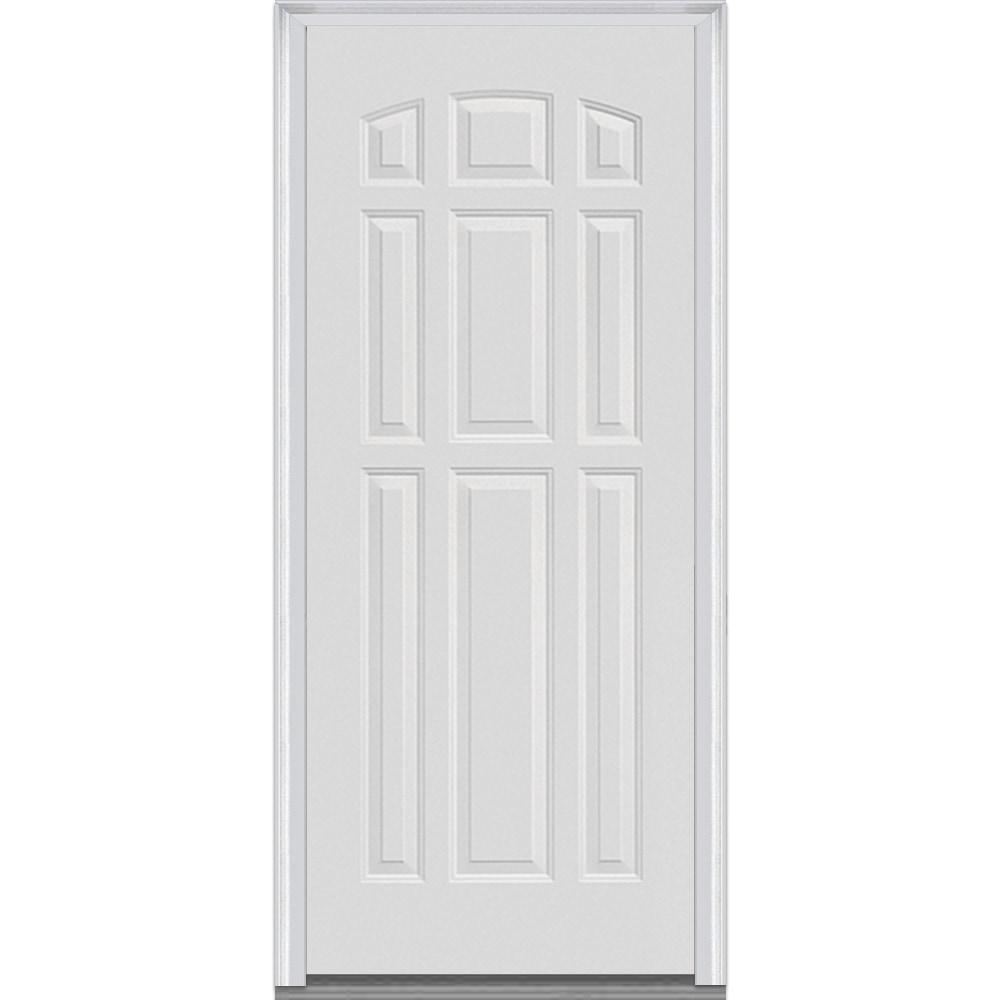 DoorBuild Classic Collection Fiberglass Smooth Severe Weather Entry Door Pr