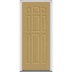 Door Build Exterior Panel Steel Prehung Entry Door Model 150682351 Exterior Doors
