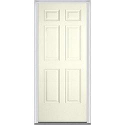 Door Build Exterior Panel Fiberglass Smooth Prehung Entry Door Type 150672541