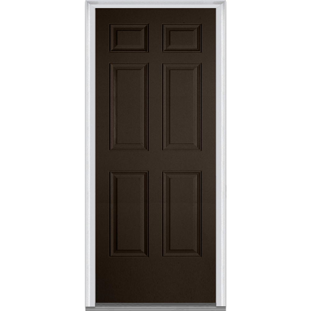 Doorbuild exterior panel collection steel prehung entry for Steel front entry doors
