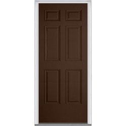 Door Build Exterior Panel Fiberglass Smooth Prehung Entry Door Model 150672851 Exterior Doors