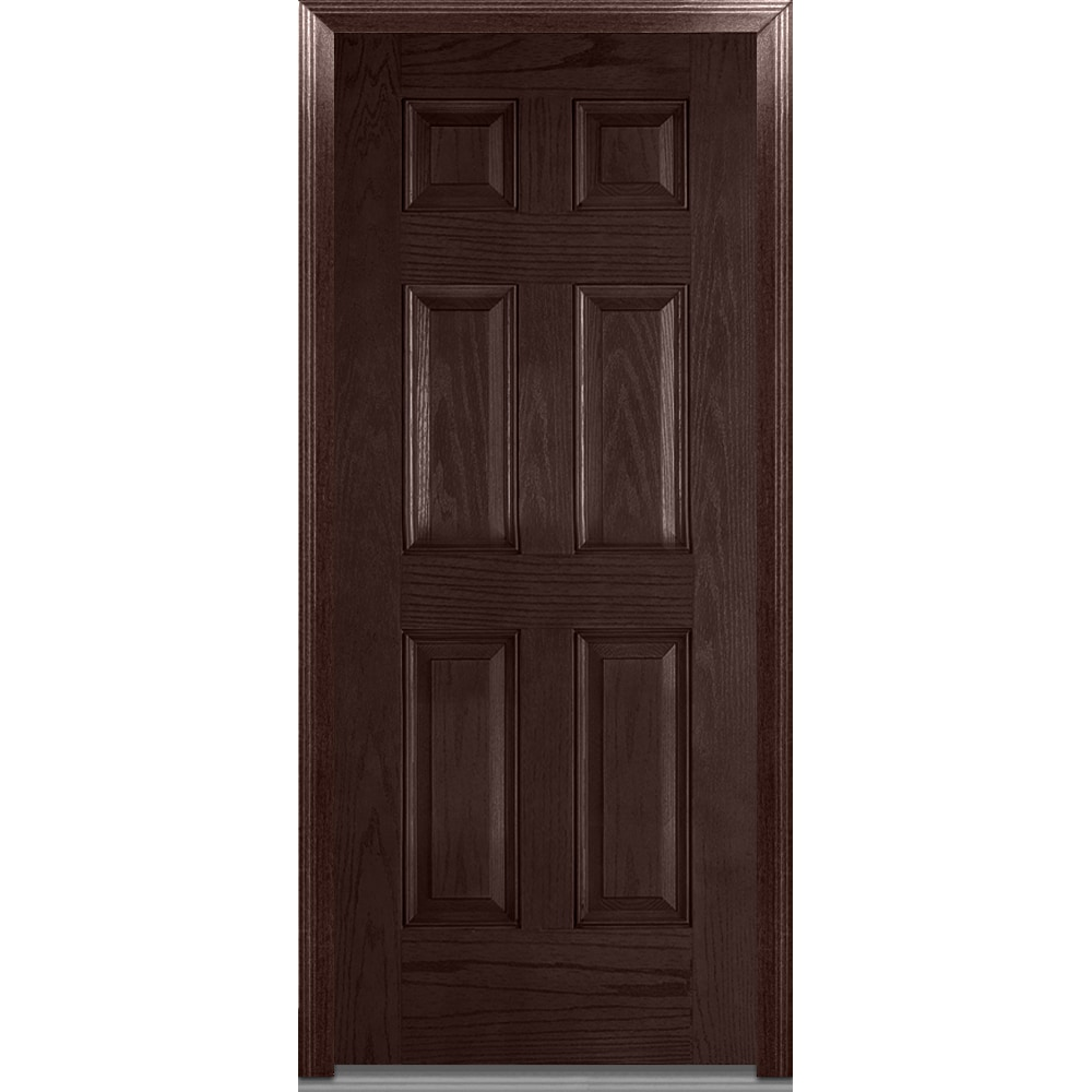 Doorbuild exterior panel collection fiberglass oak for Doors for front door