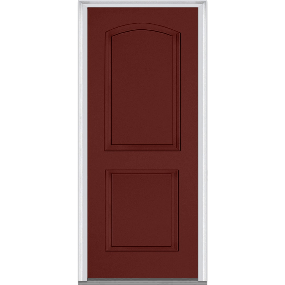 Classic burgundy front door pictures to pin on pinterest