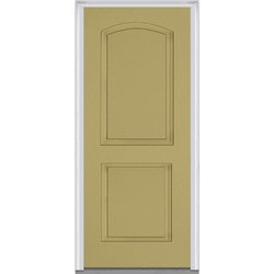 Door Build Exterior Panel Fiberglass Smooth Prehung Entry Door Type 150676021 Exterior Doors In